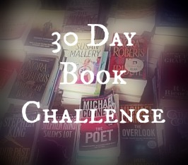 30 Day Book Challenge