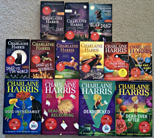The Sookie Stackhouse series by Charlaine Harris