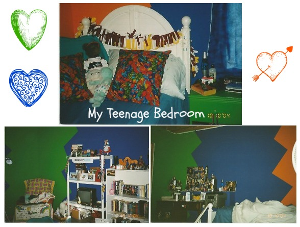 bedroom collage
