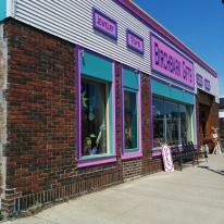 Another store in Grand Marais with a great book collection, including used