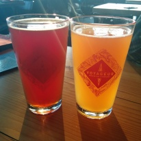 Stopped in for a couple of pints at Voyageur Brewing Company