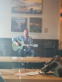 Some live music at the brewery