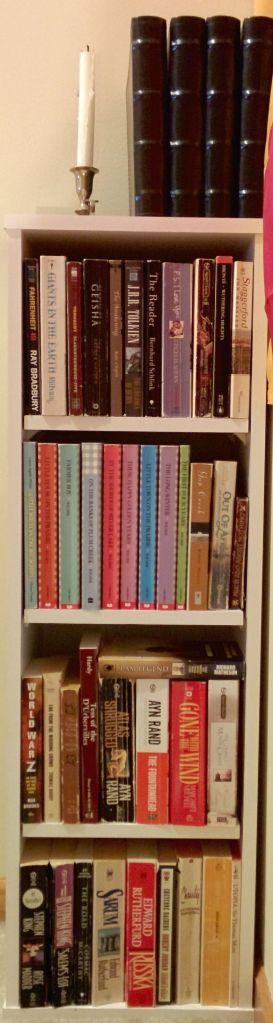 Stairwell Shelf Full
